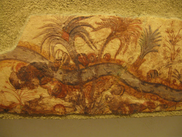 Frescos from ancient Thira
