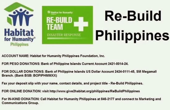 Philippines Today, news, current issues, Typhoon Yolanda, mum for a cause
