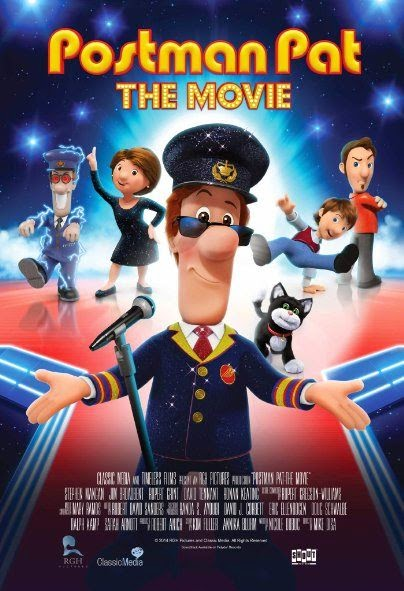 Poster Of English Movie Postman Pat: The Movie (2014) Free Download Full New Hollywood Movie Watch Online At Alldownloads4u.Com