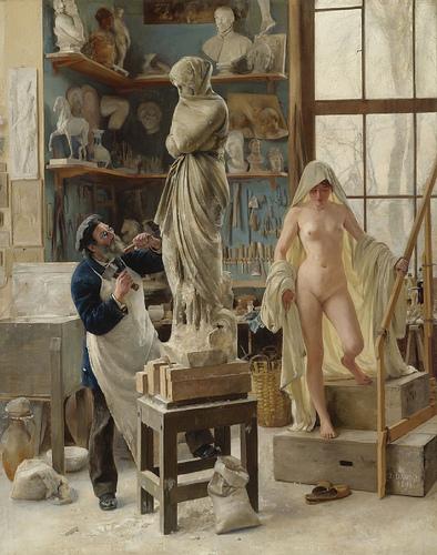 Édouard Joseph Dantan - Restoration (ca 1890)