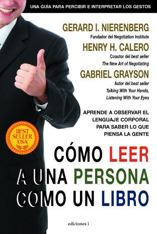 El éxito en ventas 'Cómo leer a una persona como un libro' llega a España