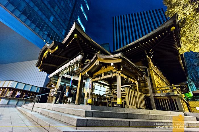 Toranomon's Konpira Shrine in Tokyo