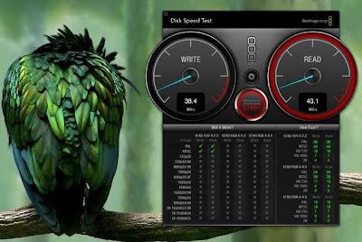 Blackmagic Disk Speed Test, mide la velocidad de tu disco duro