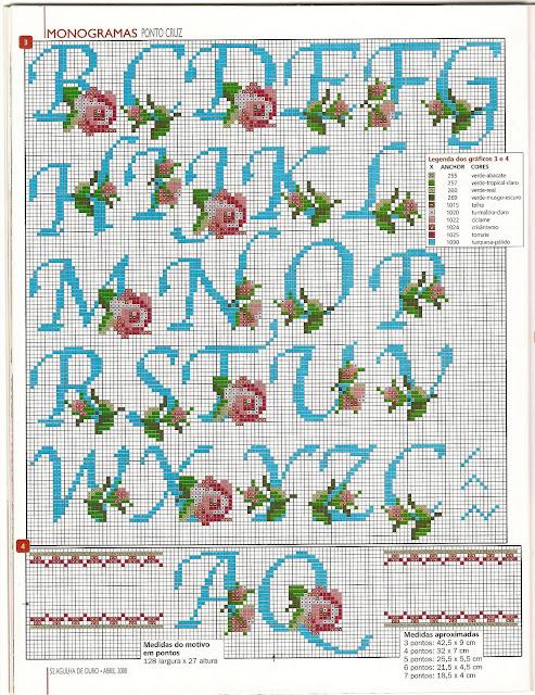 Lettere alfabeto punto croce vari tipi for Lettere a punto croce schemi
