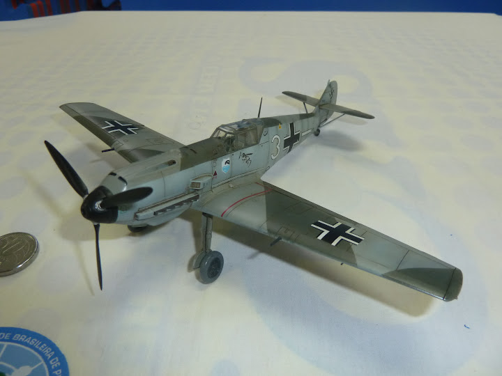Bf-109 E-3 Tamiya 1/48 - Reforma pintura P1020648