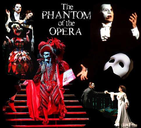 Phantom of the Opera - Angel of Music Lyrics