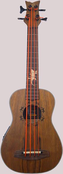 Ortega Lizard Electro-Acoustic Bass Ukulele Corner