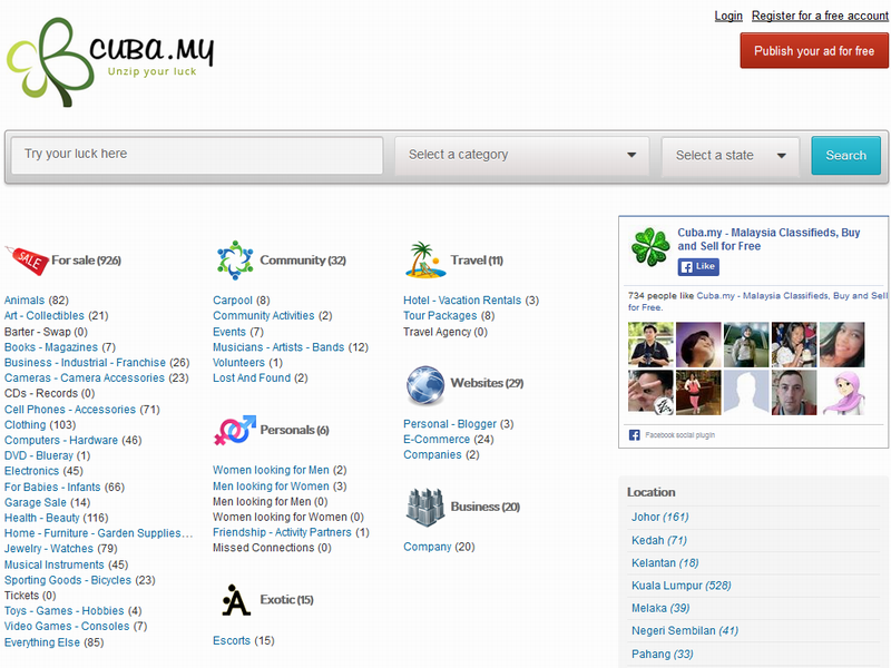Malaysia online classifieds marketplace