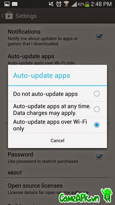 Mẹo tiết kiệm tiền 3G trên điện thoại Android