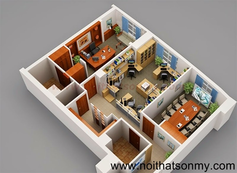 Thi công nội thất văn phòng 394