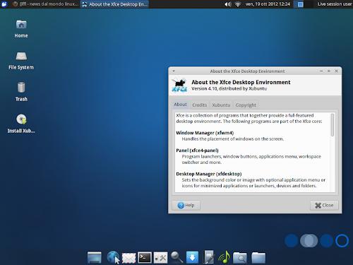 Xubuntu 12.10 Quantal