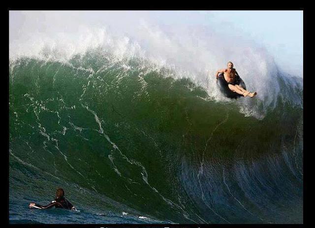 Surf... proibido e o surf de bóia