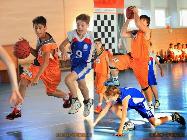 Областная баскетбольная лига в Угличе