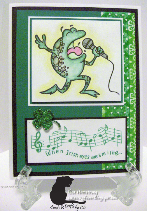 Cat scrap fever ibfd catch up cards for Michaels crafts wausau wi