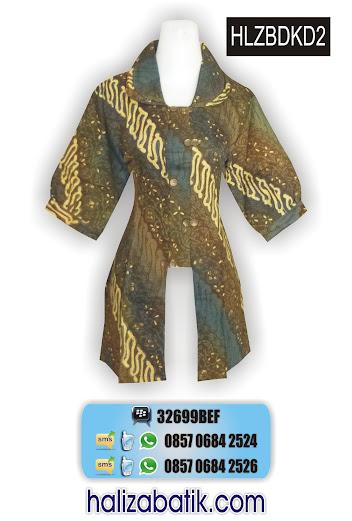 grosir batik pekalongan, Model Seragam, Blus Atasan, Blus Batik