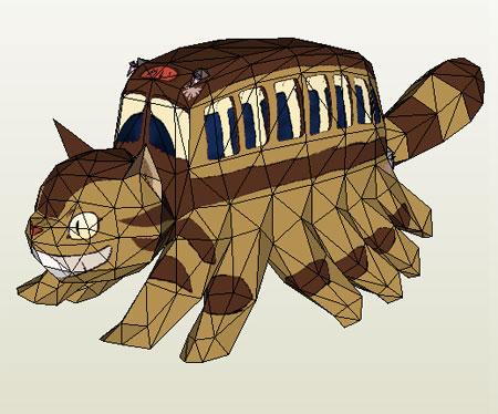 Catbus Papercraft