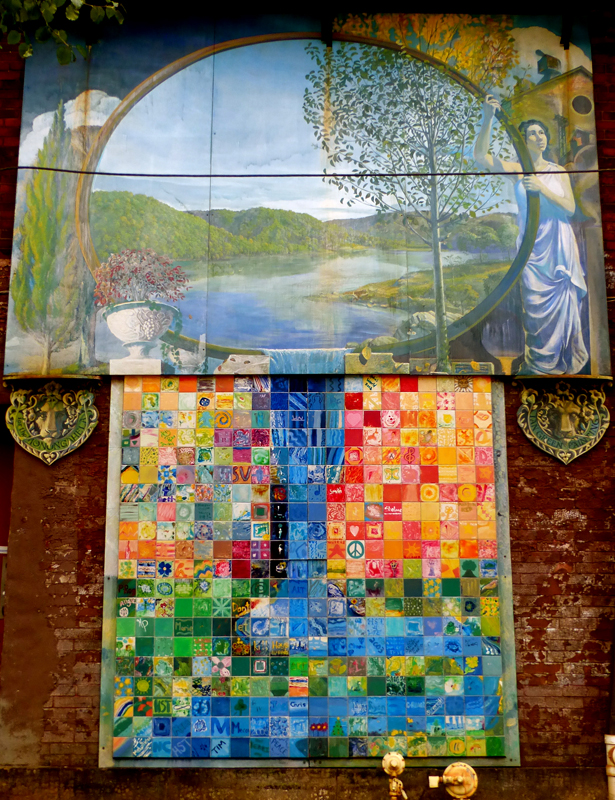 Pittsburgh murals and public art september 2015 for Mural go green