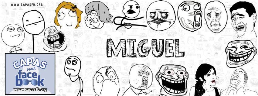 Capas para Facebook Miguel