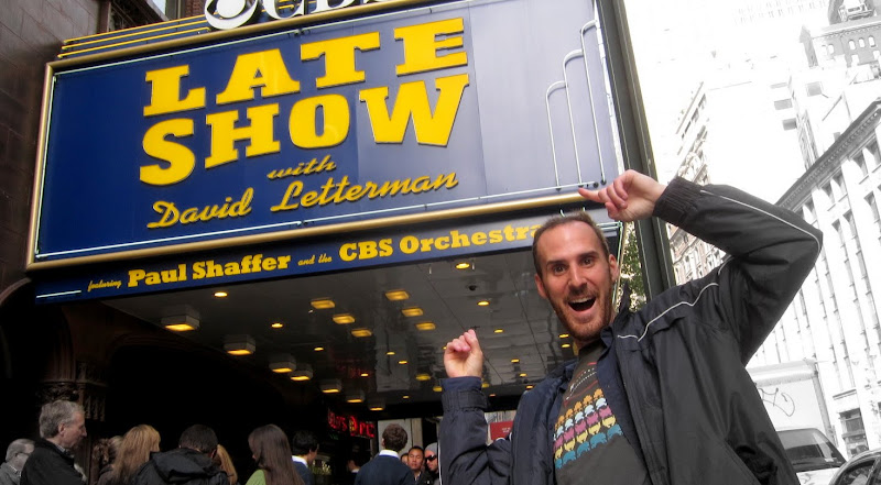 Jack and the Late Show with Letterman