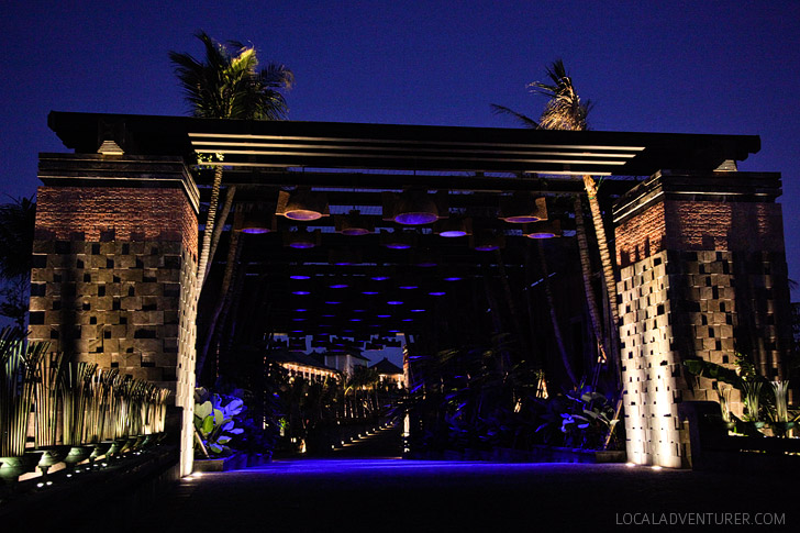 St Regis Hotel - 5 Star Resort in Bali Indonesia.