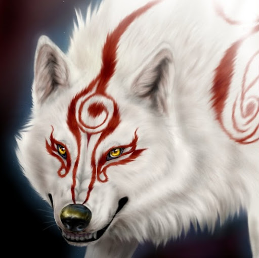 White Wolf With Red Eyes Anime | www.pixshark.com - Images ...