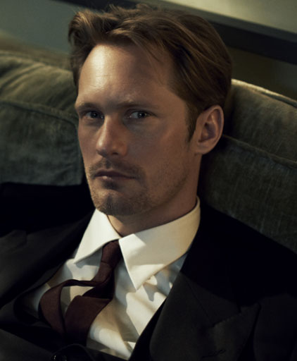 Alexander Skarsgård by Peter Lindbergh, Vogue, July 2011 (detail)