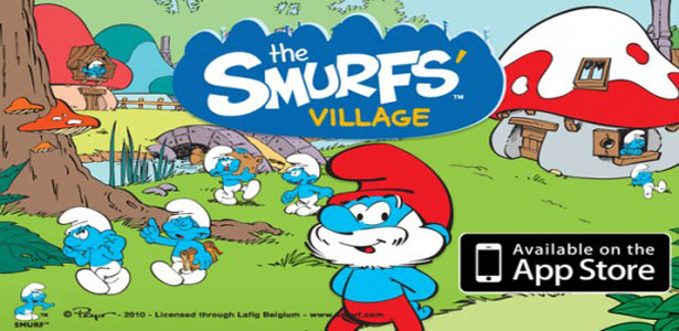 Smurfs Village game for iphone