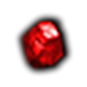 瑕疵的紅寶石