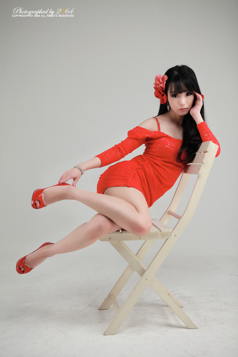 Sexy+Im+Soo+Yeon%21 020 Beautiful Im Soo Yeon Photos in Red Dress