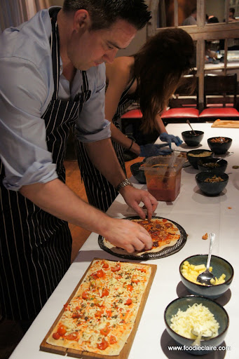 flatbread event Giraffe restaurant Soho