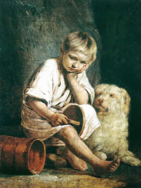 Alexei Venetsianov - Peasant Child