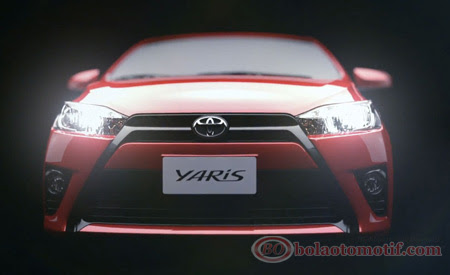 Foto dan Video tampilan mobil hatchback All New Toyota Yaris ini