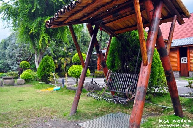 沙里仙溫泉度假村庭院