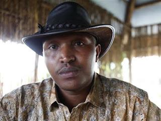 Le chef rebelle Bosco Ntaganda à Goma, le 5 octobre 2010. Photo droits tiers.