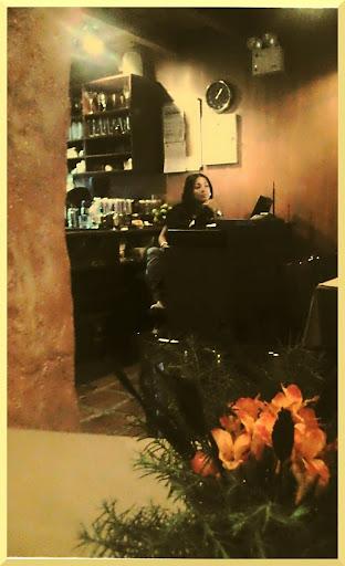 Recepcionista en el Restaurant Toscano de El Hatillo