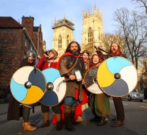 Vikings Arrive In York Ahead Of Ragnarok
