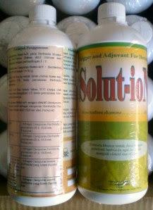 Solut-ion Campuran ampuh untuk Herbisida