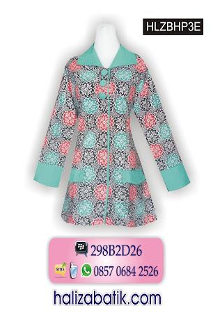 grosir batik pekalongan, Model Blus Batik, Blus Wanita, Baju Model Blus