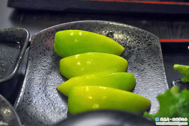聚的定食當季水果