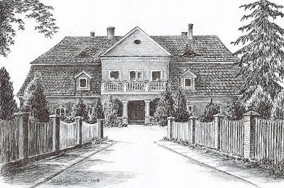 Dwór w Ustroniu – stan przed 1945 r.