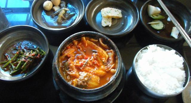 PJラマダの韓国料理店
