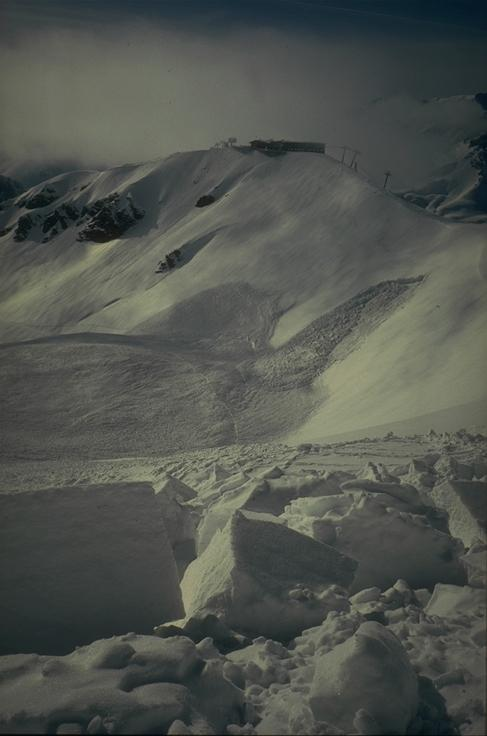 Avalanche Mont Thabor, secteur Punta Bagna - Photo 1 - © Duclos Alain