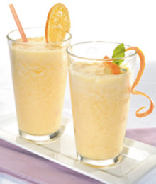 Light Orange Cream Smoothie