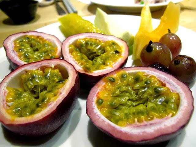 水果的擺盤-上閤屋台中復興店