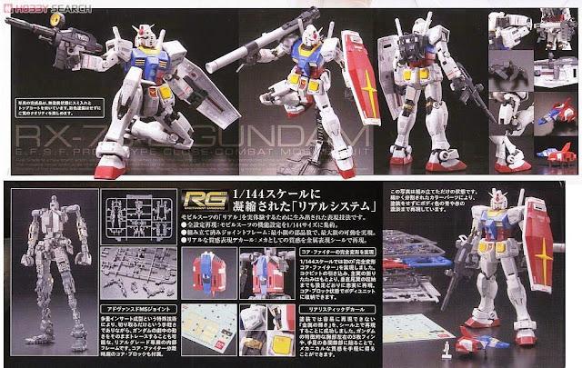 Mô hình RX-78-2 Gundam RG 1/144 sống động thực sự đẳng cấp