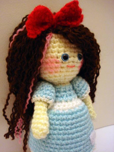 Amigurumi Hair Curly : AllSoCute Amigurumis: Cute Curly Hair Amigurumi Girl ...