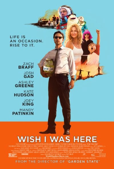 Poster Of English Movie Wish I Was Here (2014) Free Download Full New Hollywood Movie Watch Online At Alldownloads4u.Com