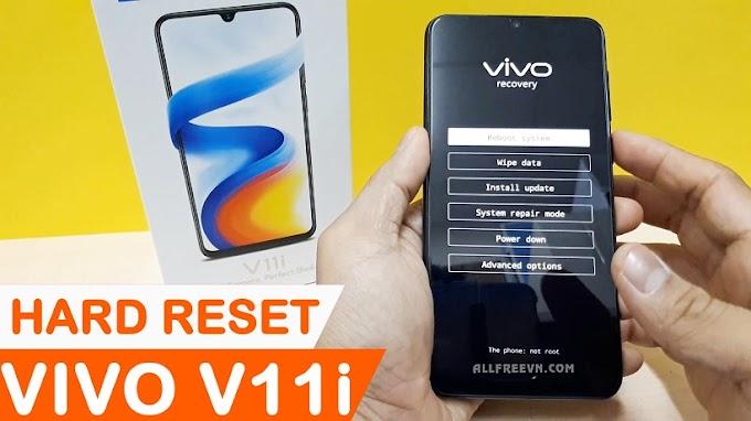 Cách Hard Reset Vivo V11i