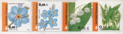 wild flower stamps from Finland