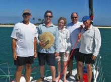 J/122 delivery crew in Australia